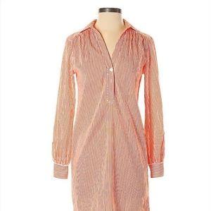 Trina Turk Pinstripe Shirt Dress
